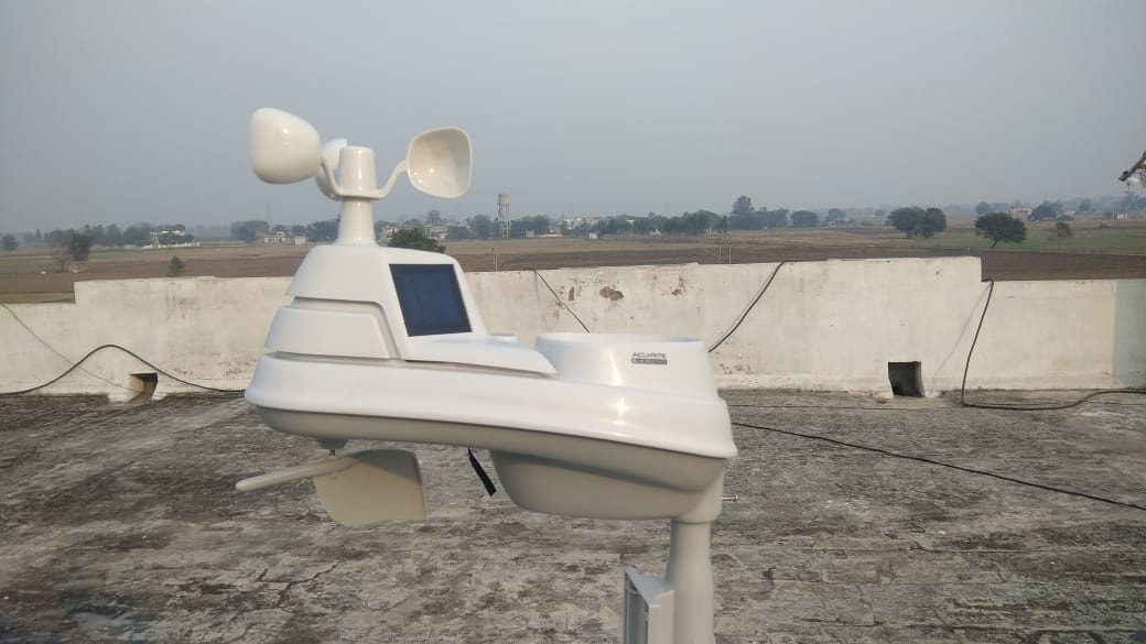 Project on Air Quality Monitoring: Installation of Weather Monitors in Indo-Gangetic Plains