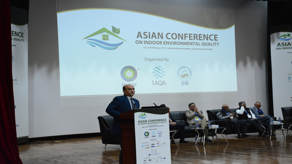 Asian Conference on Indoor Environmental Quality, Feb 2019