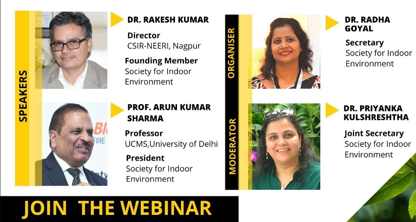 "SIE Webinar Series ""Environment and Covid-19- Opportunities and Challenges"""